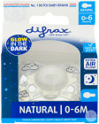 Difrax Fopspeen Natural Glow In The Dark 0-6 Maanden Sleepy Nina 1 Stuk