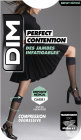 Dim Perfect Contention Kniekous 25D Transparant Zwart Maat 36/38 Paar 1