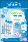 Dr. Brown's Options+ Anti-Colic Bottle Giftbox Standaardfles Blauw