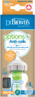 Dr. Brown's Options+ Anti-Koliek Brede Halsfles 150ml Glas 1 Stuk