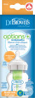Dr. Brown's Options+ Antikoliek Brede Halsfles 0+ Maanden 150ml Stuk 1
