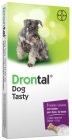 Drontal Dog Tasty 150/144/50mg Gemengde Infecties Nematoden En Cestoden Hond 6 Tabletten