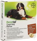 Drontal Large Dog Flavour Menginfestaties Van Rondwormen En Lintwormen Hond 2 Tabletten