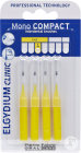 Elgydium Clinic Monocompact Interdentale Borsteltjes 1mm Yellow 4 Stuks