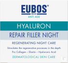 Eubos Anti-Age Hyaluron Repair Filler Night Herstellende Nachtcrème Pot 50ml