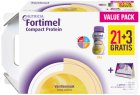 Fortimel Compact Protein Vanille 24x125ml Promo 21+3 Gratis