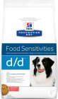 Hill's Pet Nutrition Prescription Diet Food Sensitivities D/D Canine Zalm En Rijst 5kg