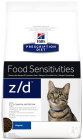 Hill's Pet Nutrition Prescription Diet Food Sensitivities Z/D Feline Original 2kg