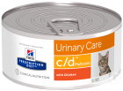Hill's Pet Nutrition Prescription Diet Urinary Care C/D Multicare Feline Met Kip 24x156g