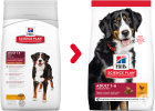 Hill's Pet Nutrition Science Plan Canine Adult Advanced Fitness Large Breed Met Kip 12kg