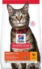 Hill's Pet Nutrition Science Plan Feline Adult 1-6 Chicken Zak 10kg