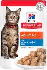 Hill's Pet Nutrition Science Plan Feline Adult 1-6 Ocean Fish Zakjes 12x85g (2105)