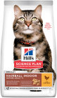 Hill's Pet Nutrition Science Plan Hairball Indoor Feline Mature Adult 7+ Chicken Zakje 1,5kg