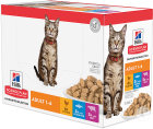 Hill's Pet Nutrition Science Plan Inschrijving Bijt In Saus Feline Adulte Optimal Care 12x85g