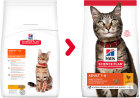 Hill's Pet Nutrition Science Plan Optimal Care Feline Adult Met Kip 10kg