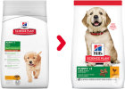 Hill's Pet Nutrition Science Plan Puppy Healthy Development Large Breed Met Kip 11kg