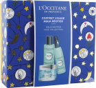 L'Occitane Koffertje Gezicht Aqua Réotier Watergelreiniger 40ml + Essentie 30ml +  Gel 50ml
