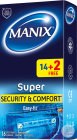 Manix Super Condoms 14 +2