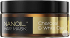 Nanoil Charcoal & White Clay Haarmasker Pot 300ml