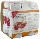 Nestlé Resource Fruit Peer - Kers Flesjes 4x200ml (12104025)