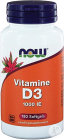 Now Vitamine D3 1000 IE 180 Softgels