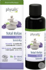 Physalis Total Relax Serenity Massageolie Bio 100ml