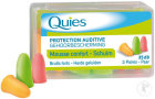 Quies Oordoppen Mousse Fluo 3 Paren
