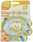 Raz Baby Keep-It-Kleen Fopspeen Kit Kitty 0-36 Maanden 1 Stuk