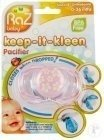 Raz Baby Keep-It-Kleen Fopspeen Pink With Flowers/Hearts 0-36 Maanden 1 Stuk