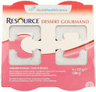 Resource Dessert Gourmand Aardbei 4x125g 12311130