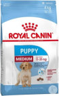 Royal Canin Size Health Nutrition Medium Puppy Canine 15kg