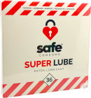 Safe Condoms Super Lube Extra Lubricant Condooms 36 Stuk