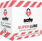 Safe Condoms Super Lube Extra Lubricant Condooms 5 Stuk