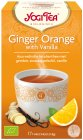 Yogi Tea Ginger Orange With Vanilla 17 Infusie Zakjes