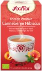 Yogi Tea Positive Energy Cranberry Hibiscus 17 Infusie Zakjes