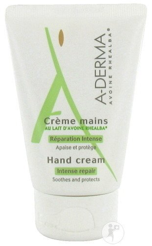 A-Derma Handcrème Met Havermelk Tube 50ml