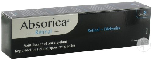 Absorica Retinal Creme Tube 30ml