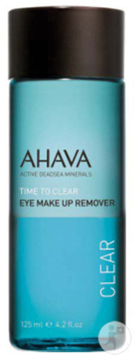 Ahava Time To Clear Oog Make-Up Remover Fles 125ml