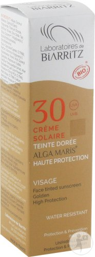 Alga Maris Zonnecreme Gezicht Ip30 Doree 50ml