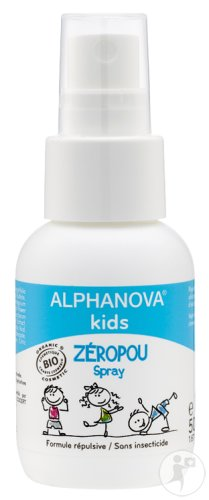 Alphanova Kids Zeropou Spray Tegen Luizen Bio 50ml