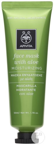 Apivita Masque Hydraterend Aloe Tube 50ml