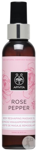 Apivita Rose Pepper Massage Olie Fles 150ml
