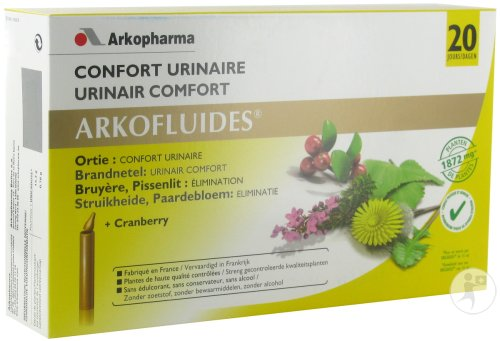 Arkofluides Urinair Comfort 20 Unicadoses