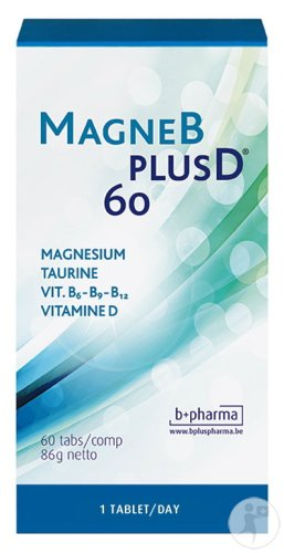 B+ Pharma MagneBplusD 60 Tabletten