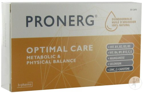 B+ Pharma Pronerg Optimal Care 30 Capsules