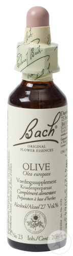 Bach Flower Remedie 23 Olive (Olijf) 20ml