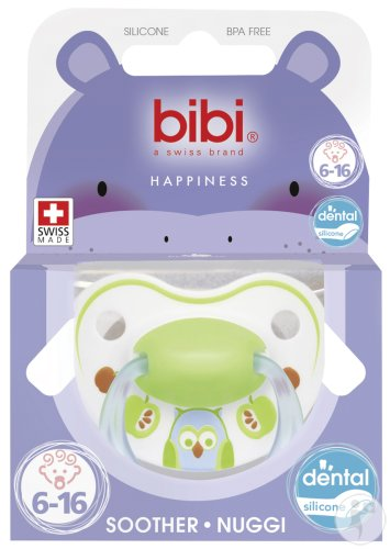 Bibi Fopspeen Happiness 6-16 Maanden Collectie Play With Us 2015 Stuk 1