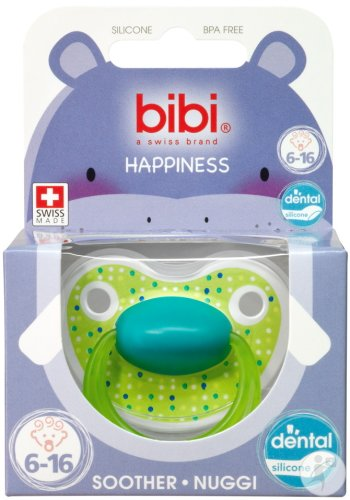 Bibi Fopspeen Happiness Lovely Dots 6-16 Maanden