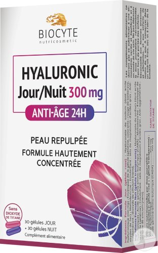 Biocyte Hyaluronic Jour/Nuit 300mg Tabletten 30 + Capsules 30