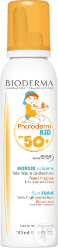 Bioderma Photoderm Kid Mousse SPF50+ Fragiele Huid Aerosol 150ml